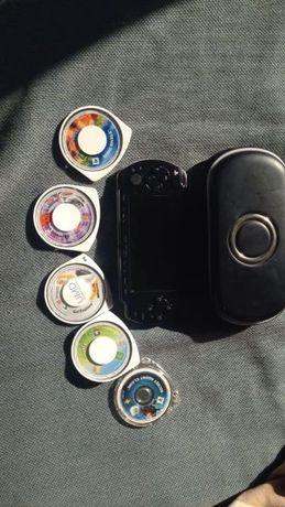 PSP e 5 jogos