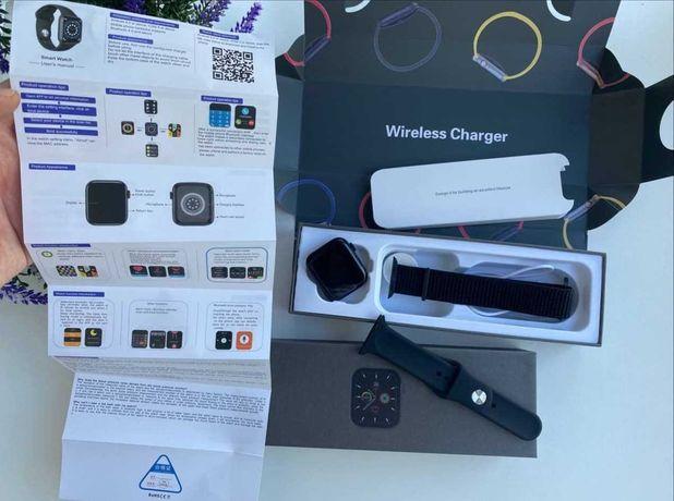 Smart watch 6 nike 44mm alluminium case смарт вотч найк