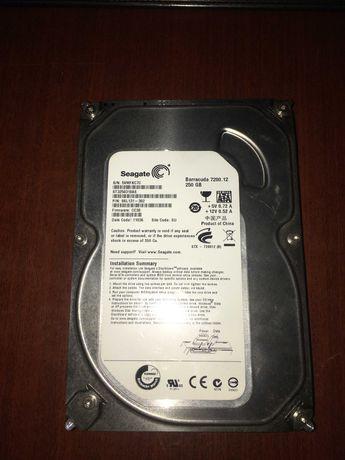 Seagate Barracuda 250 GB, 7200rm