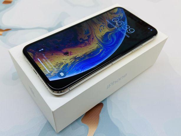 iPhone XS 256GB SILVER • GWAR 12 msc • DARMOWA wysyłka • FAKTURA