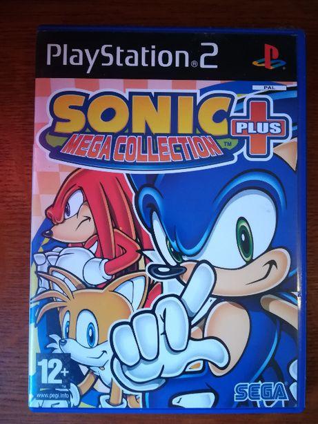 Jogo PS2 - Sonic Mega Collection Plus
