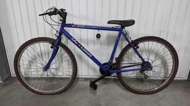 Bicicleta homem azul - roda 26