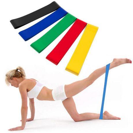 Набор лент-эспандеров резинок для фитнеса GEMINI, 100% оригинал