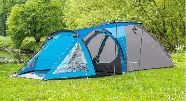 Палатка Soliter 4 двухслойная проклеенные швы новая