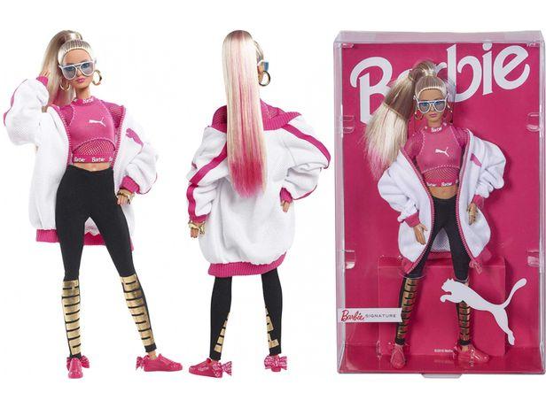 Коллекционная Барби Пума, блондинка, Barbie Puma