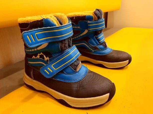 Демисезонные Ботинки на мальчика. Германия. 29 размер, 18.5см