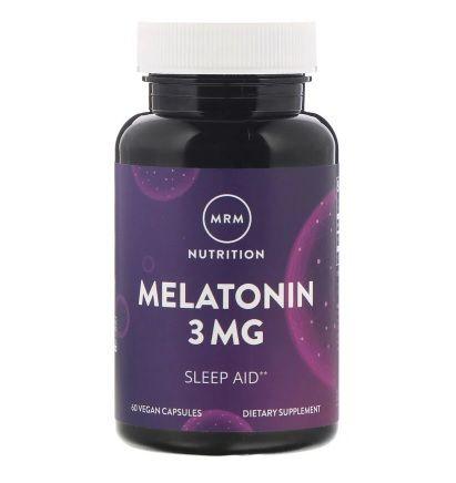 Мелатонин 3мг 60капсул MRM