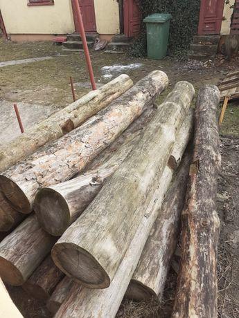 drewno na altanę ławkę wiatę inne