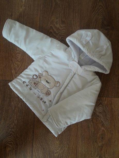 Куртка демисезонная на 9-12 месяцев