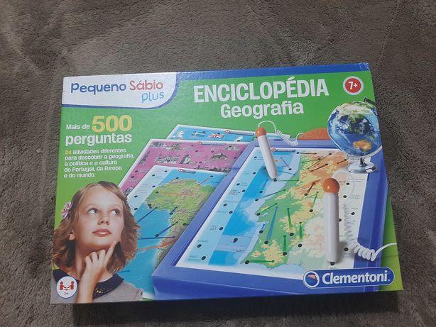Jogo Enciclopedia de Geografia como novo