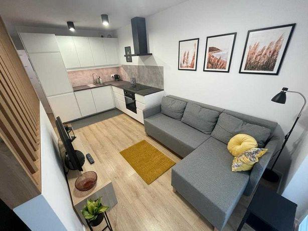 Nowe komfortowe mieszkanie 30m2 przy Dolinie Silnicy z garazem