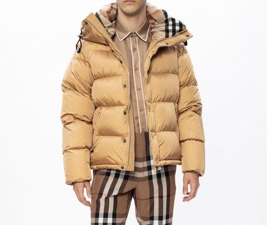 Burberry kurtka puchowa zimowa moncler damska / meska rozmiar l 40