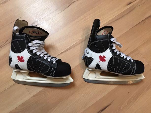 Łyżwy hokejowe Tri-Gold nr 40, stan idealny