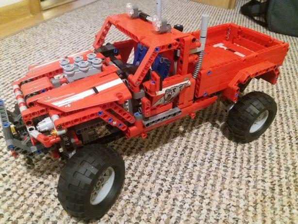 lego technik ciężarówka po tuningu 42029