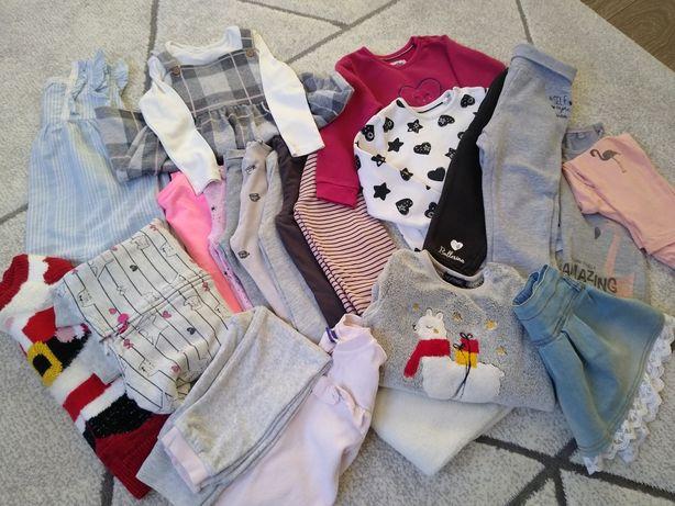 Paka ubrań dla dziewczynki r 92