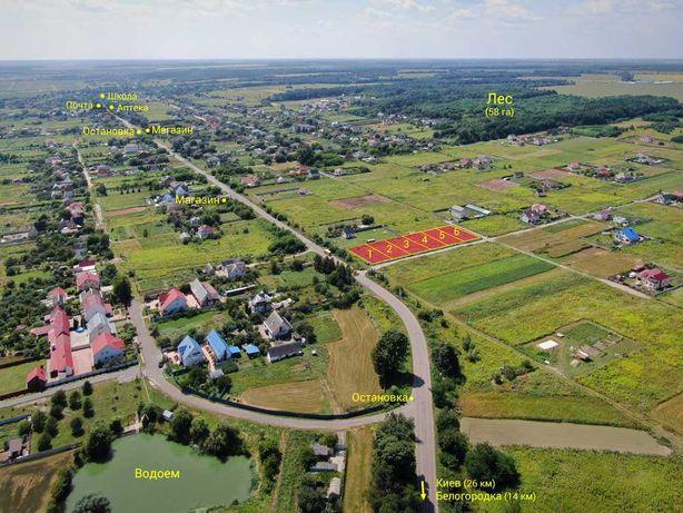 Продажа участка 5.62 сот возле леса и водоема Музычи-Новоселки