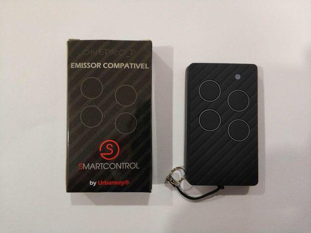 Comando compatível portão garagem 433/868Mhz Multimarca Rolling Code