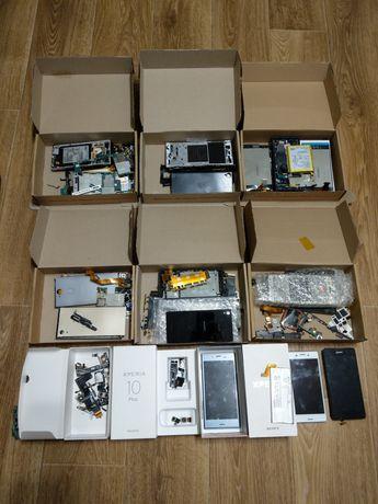 Запчасти на Sony Z3, X, L1, L3, XA1, XA2, E5, Z5, XZ, XZ1, 10 plus