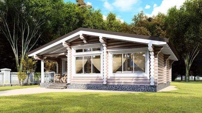 Дом из Дикого Сруба 12960$