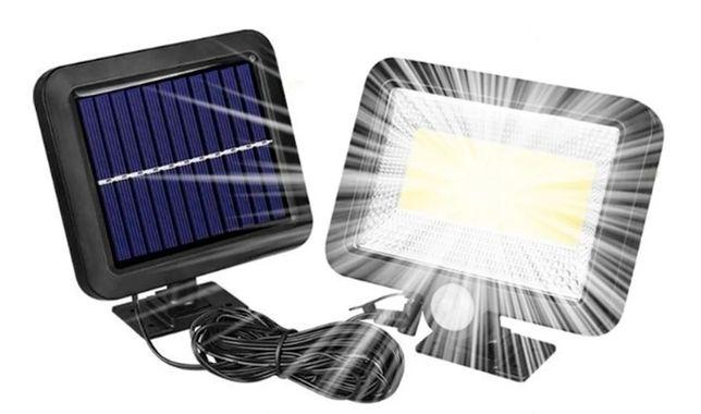 Halogen Lampa solarna 100 Led czujnik ruchu i zmierzchu