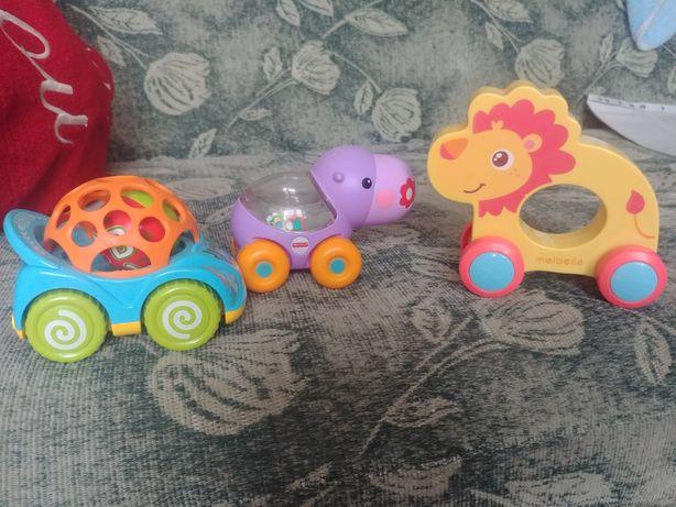 Zestaw Zabawki dla maluszka do raczkowania