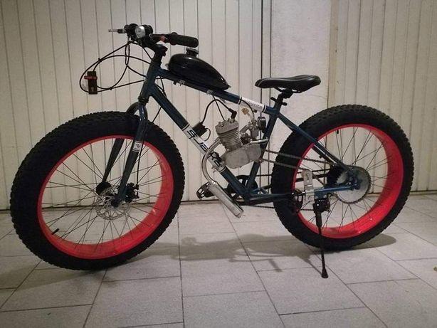 Reparações/montagens bicicletas a motor 80cc/100cc