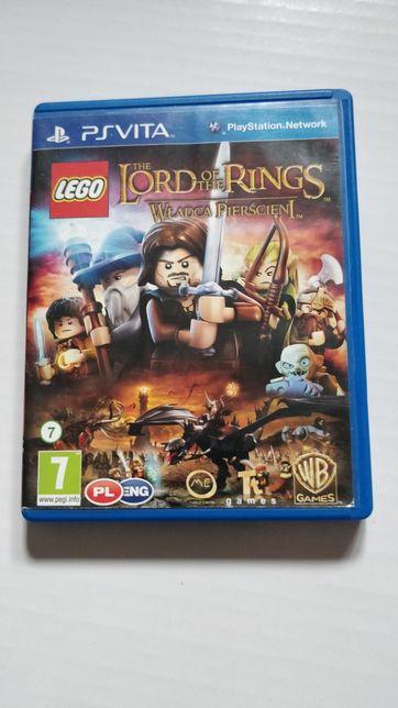 Gra na PSvita LEGO the Lord of the rings Władca pierścieni, wersja PL