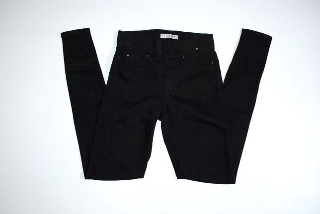 джеггинсы черные бренд Denim XS Гермнаия скини зауженные джинсы