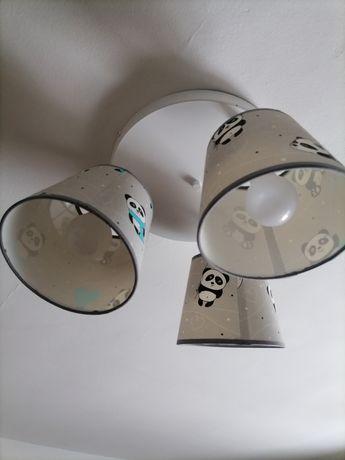 Żyrandol lampa pandy dla dziecka dzieci do pokoju
