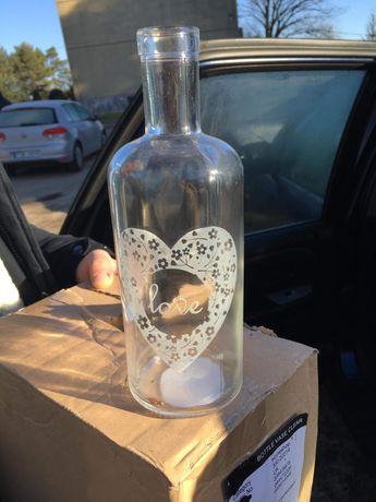 Butelka ozdobna lub na wino!