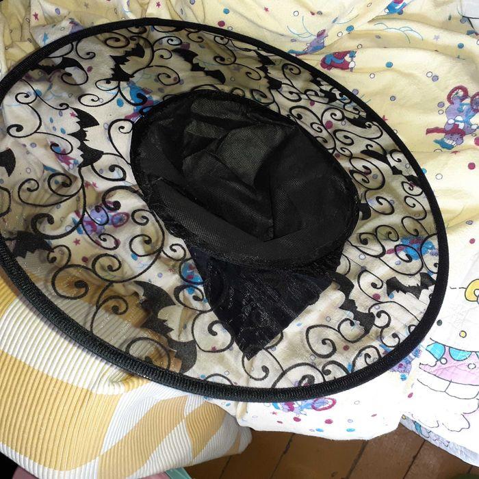 Kapelusz karnawałowy dla dzieci czarownica czarodziejka nietoperz Olsztyn - image 1
