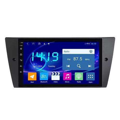Auto Rádio Android 10 BMW E90 E91 E92 E93, 1GB RAM 16GB ROM.