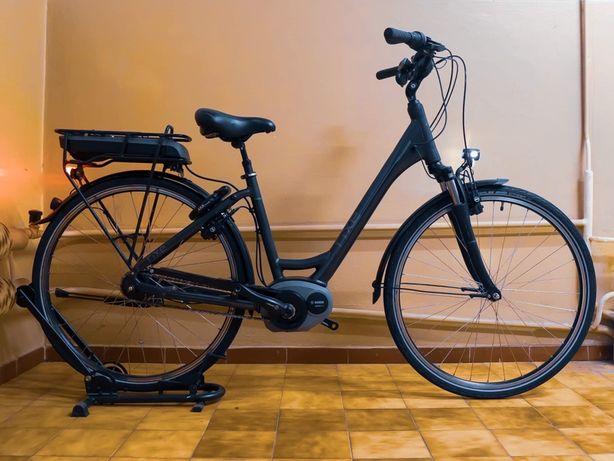 Rower elektryczny damski Rixe Bordeaux rama 46 koła 28