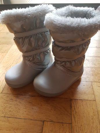 Buty śniegowce zimowe dziecięce CROCS