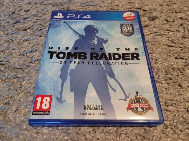 Rise of the tomb rider ps4 gra