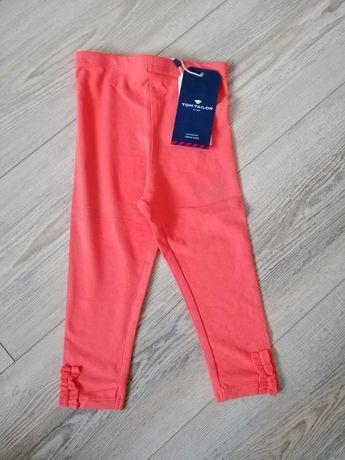 Nowe leginsy r. 80 Tom Tailor spodnie