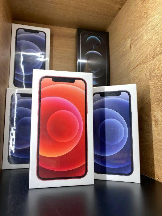 iPhone 12 64 Black/ 128 RED/ НОВЫЕ ЗАПАКОВАННЫЕ/ Гарантия! Киев - изображение 1