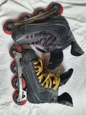 Bauer Vapor rx05 r 40.5 wkl 26cm Rolki Hokejowe