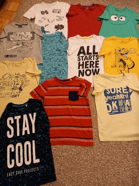 T-shirty 11 szt na 134/140cm
