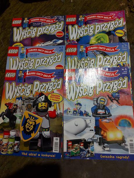 Wyscig przygód Lego czasopismo dziecięce