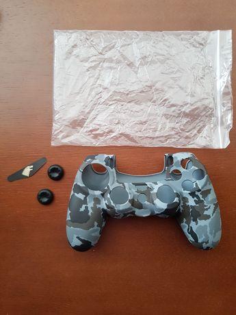 Capa + Grips comando PlayStation PS4