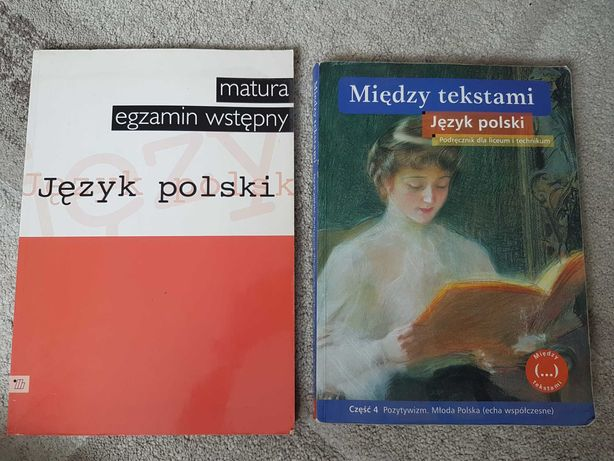 Książki do języka polskiego - liceum/technikum/matura