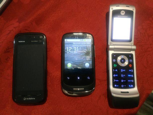 Lote 3 telemóveis