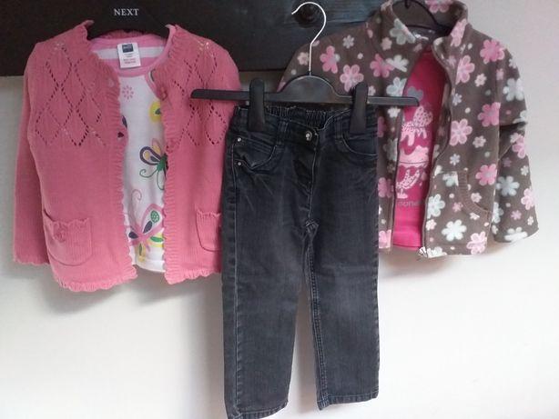 Zestaw ubranek dla dziewczynki 104