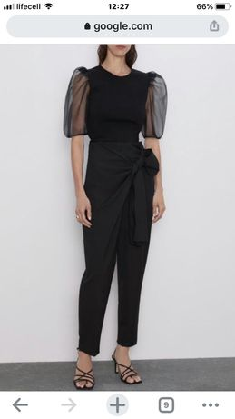 Брюки женские Zara размер М высокая талия