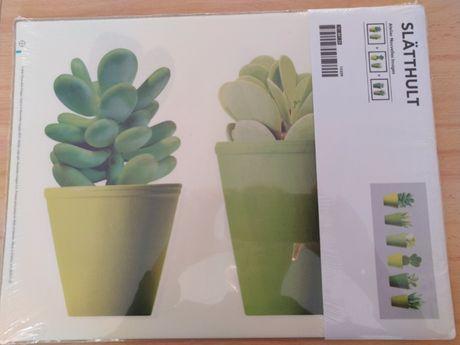 Naklejki Ikea dekoracja sukulenty