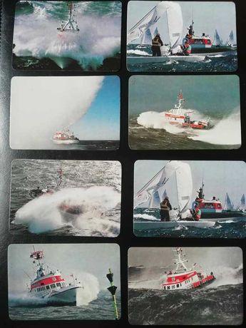 Calendários de bolso, tema : Barcos
