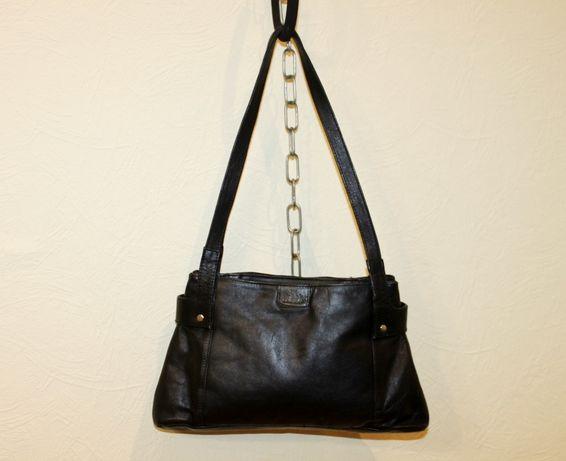 Кожаная сумка трапеция Rowallan Fine Leather Hand Made кожа натуральна