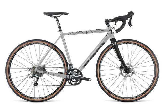 Rower Gravel Dema GRID 3.0 grey-brown, Rozmiar ramy:52 cm.Stan IDEALNY