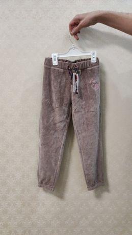 велюровые спортивные штаны р.128 Смик Cool Club Smyk спортивки брюки